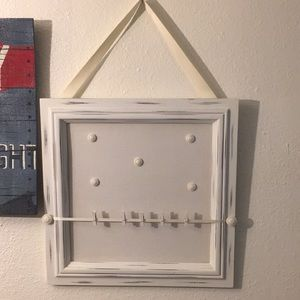 Rustic Hanging Collage Board